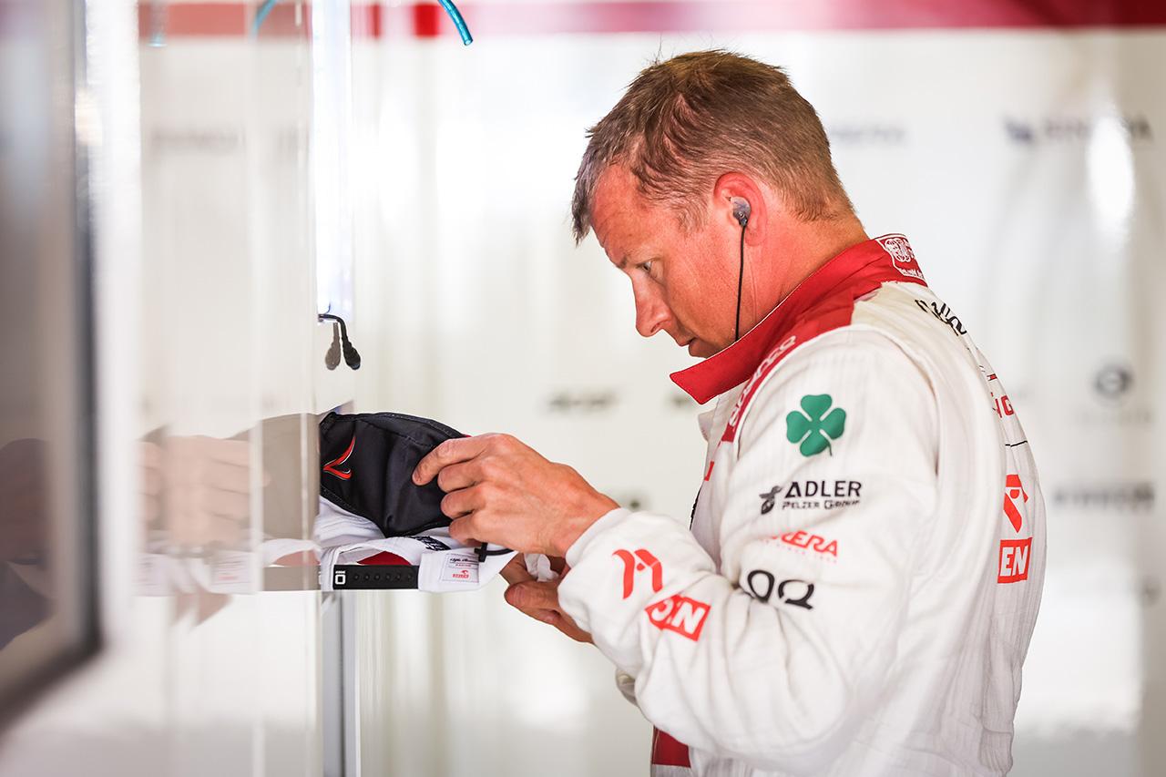 キミ・ライコネン 「最後の走行でラップをまとめることができなかった」 / アルファロメオ F1ポルトガルGP 予選