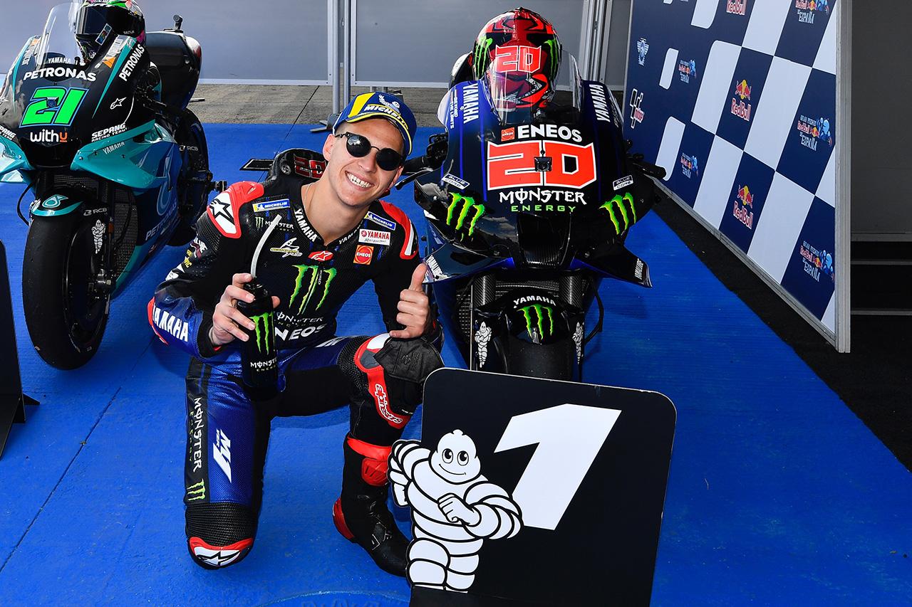 MotoGP スペインGP 予選:クアルタラロが2戦連続ポールポジション