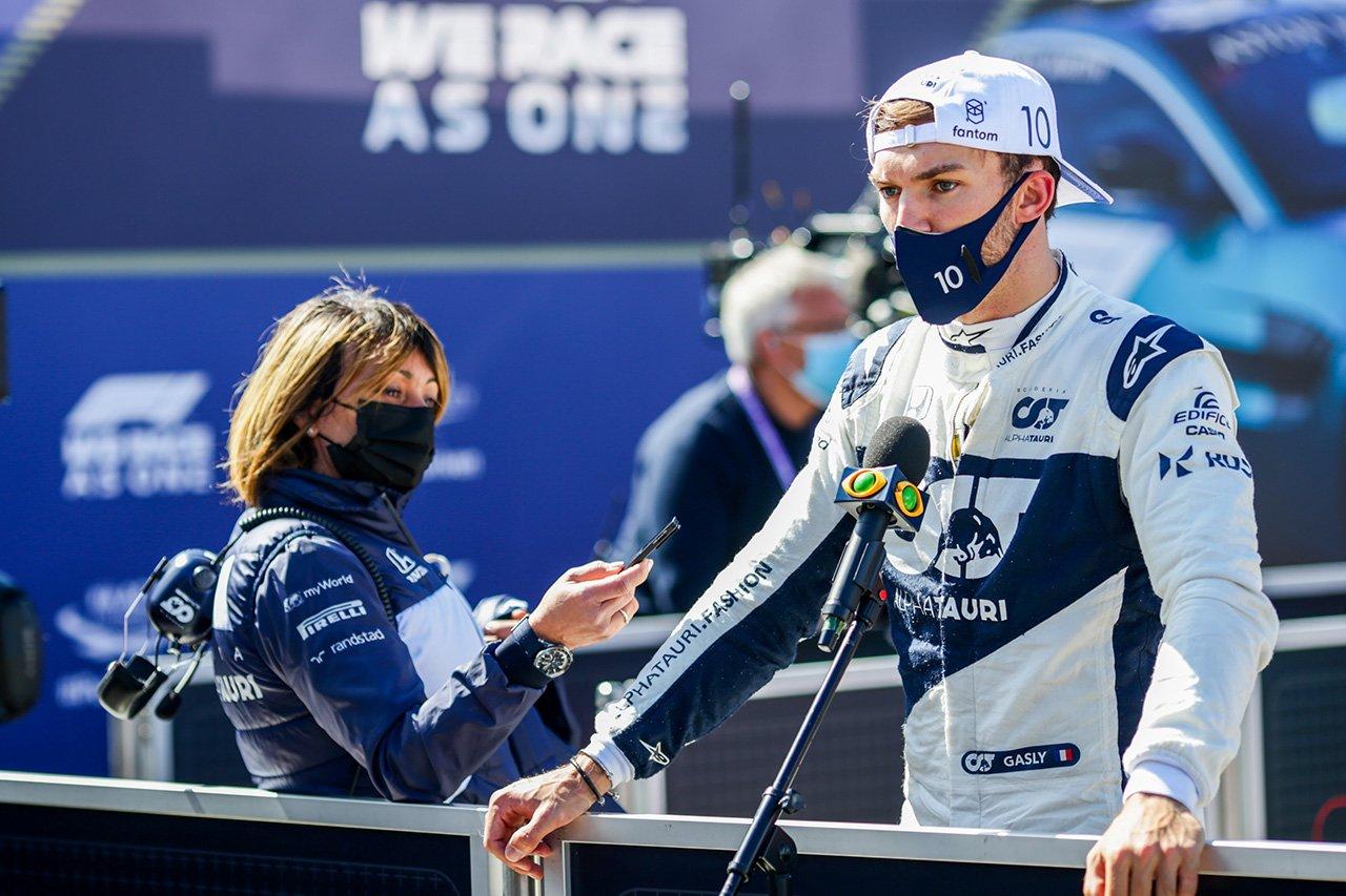 ピエール・ガスリー 「マシンの感触がよくない中でのQ3進出はうれしい」 / アルファタウリ・ホンダ F1ポルトガルGP 予選
