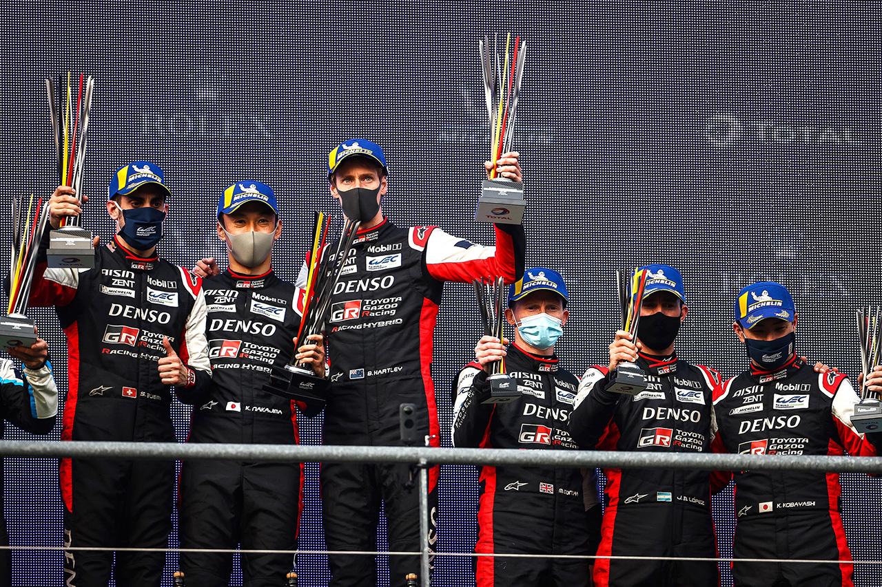 WEC:トヨタ GR010 HYBRID 8号車がデビューウィン!新たなハイパーカー時代初レースを歴史的勝利で飾る / 2021年 第1戦 スパ6時間