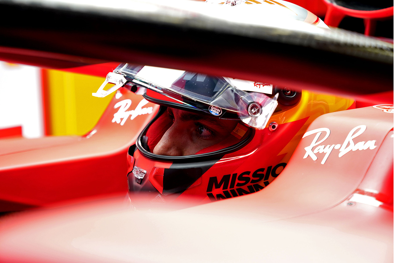 カルロス・サインツ 「アンダーカットを狙った戦略が裏目に出た」 / フェラーリ F1ポルトガルGP 決勝