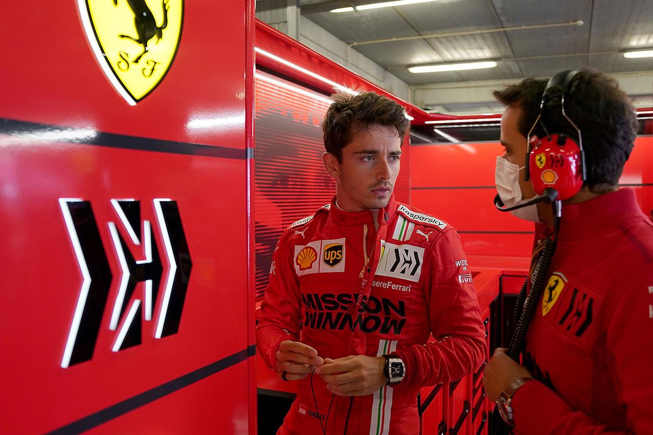 シャルル・ルクレール 「ミディアムに苦戦。6位に満足はできない」 / フェラーリ F1ポルトガルGP 決勝