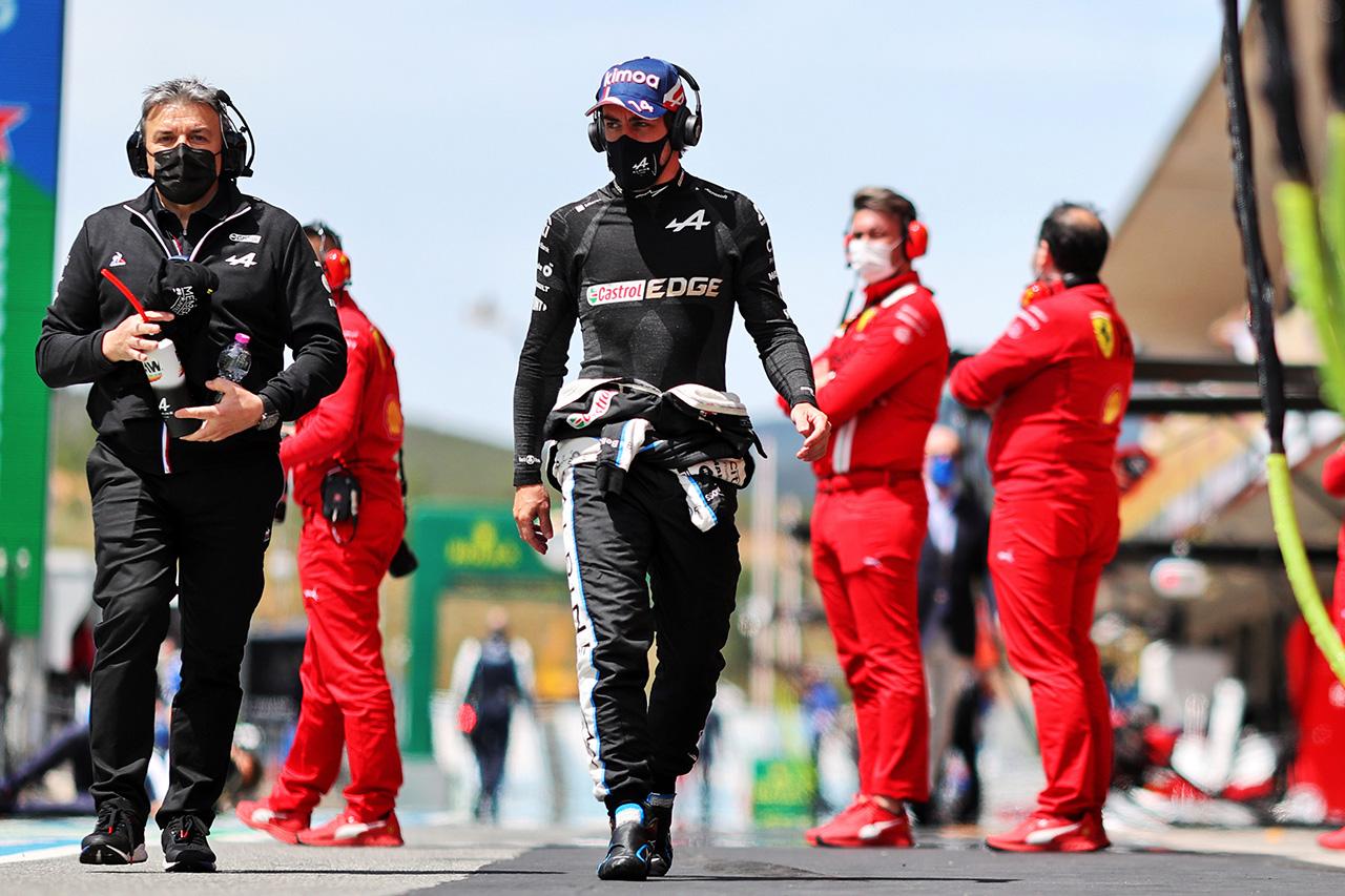 フェルナンド・アロンソ、8位入賞 「初めてマシンを快適に感じた週末」 / アルピーヌ F1ポルトガルGP 決勝