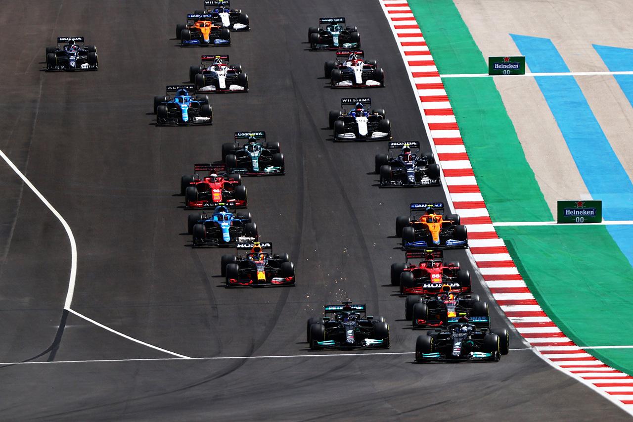 【速報】 F1ポルトガルGP 結果:マックス・フェルスタッペンが2位表彰台。角田裕毅は15位