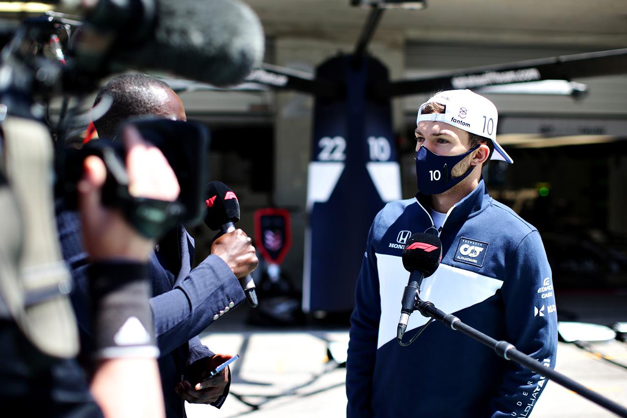 ピエール・ガスリー、苦しい展開も10位「ある意味では予想通りの結果」 / アルファタウリ・ホンダ F1ポルトガルGP 決勝