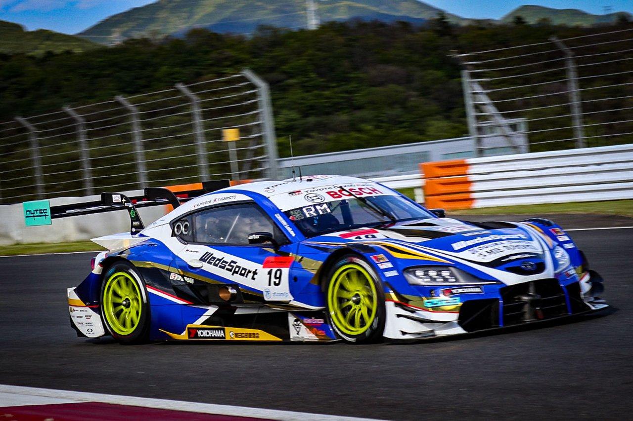 SUPER GT 第2戦:WedsSport ADVAN GR Supraの宮田莉朋が初ポール