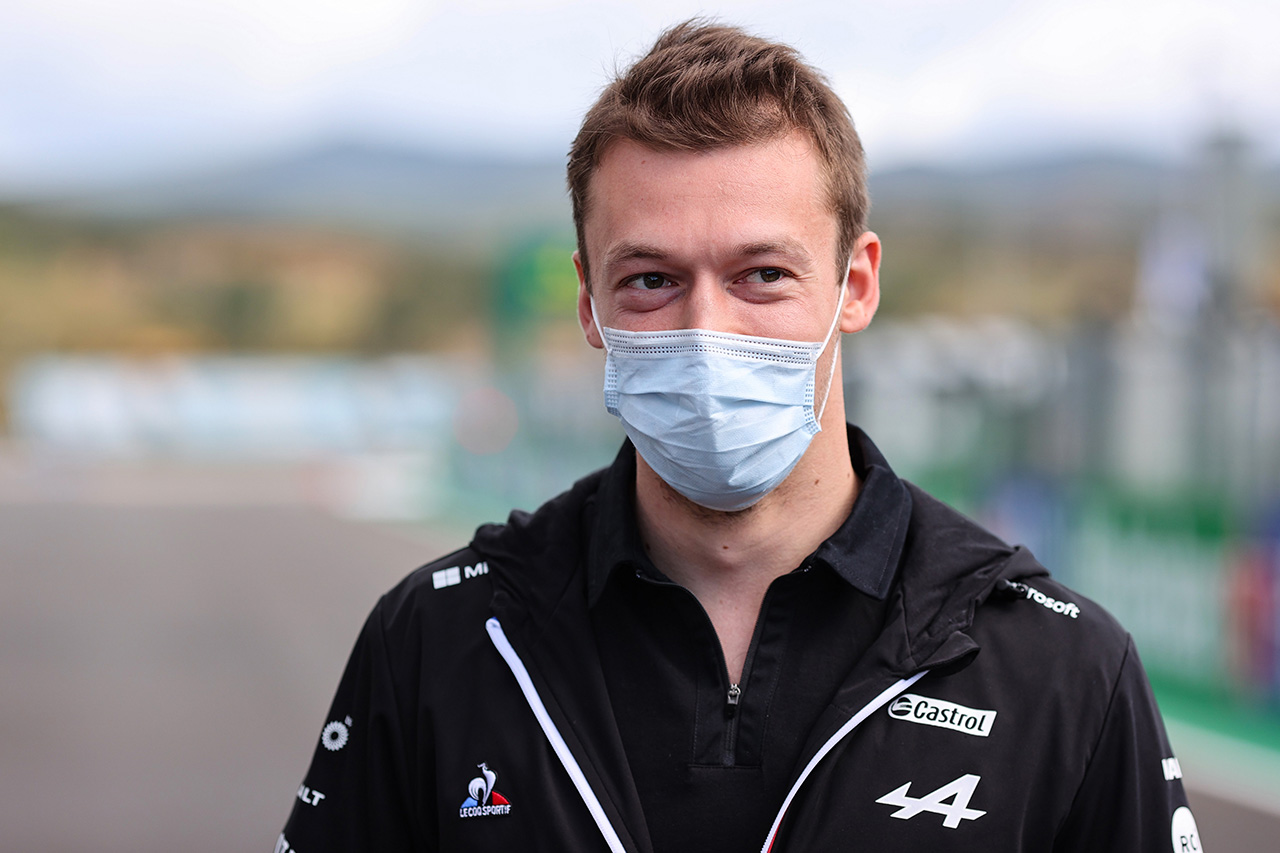 ダニール・クビアト 「F1だけでなく多くの提案を検討していきたい」
