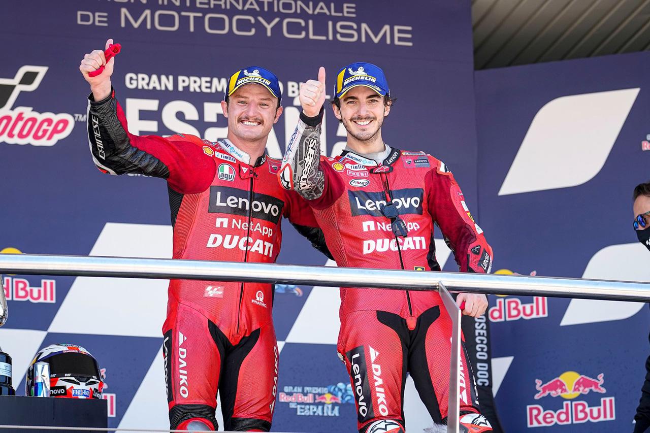 MotoGP:ドゥカティ 2021年 第4戦 スペインGP 決勝レポート