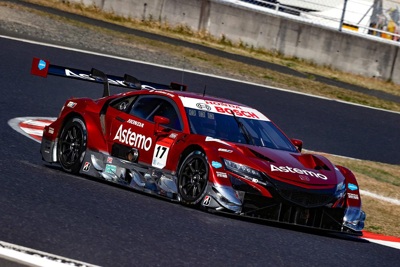 2021年 SUPER GT 第2戦 結果: #17 Astemo NSX-GTが優勝
