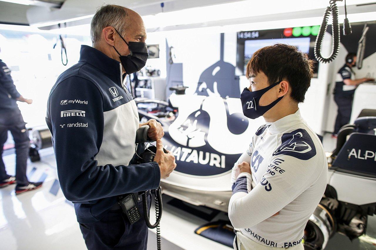 角田裕毅、困惑の現状「ガスリーとフィードバックが真反対で挙動も違う」 / アルファタウリ・ホンダ F1ポルトガルGP後インタビュー