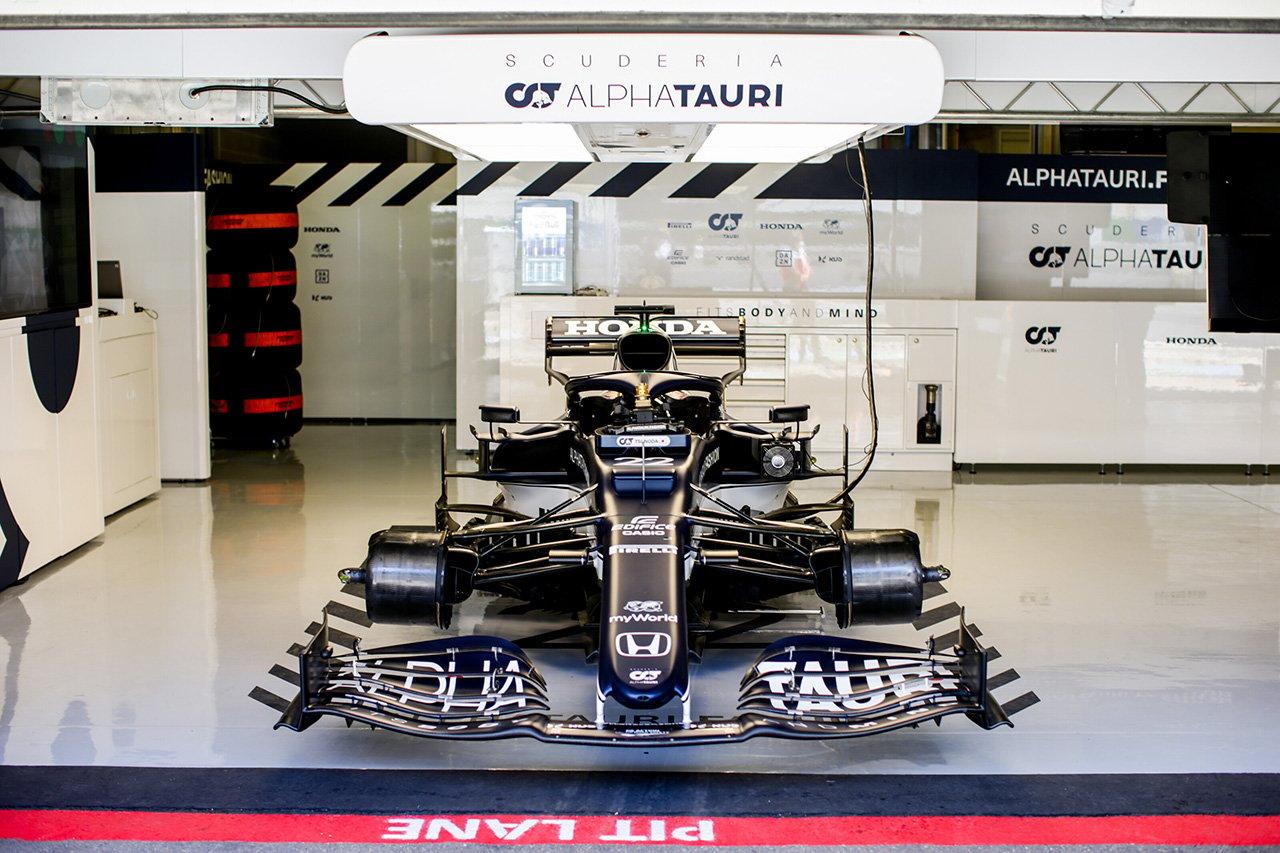 アルファタウリF1、2022年F1マシン『AT03』の開発作業を開始