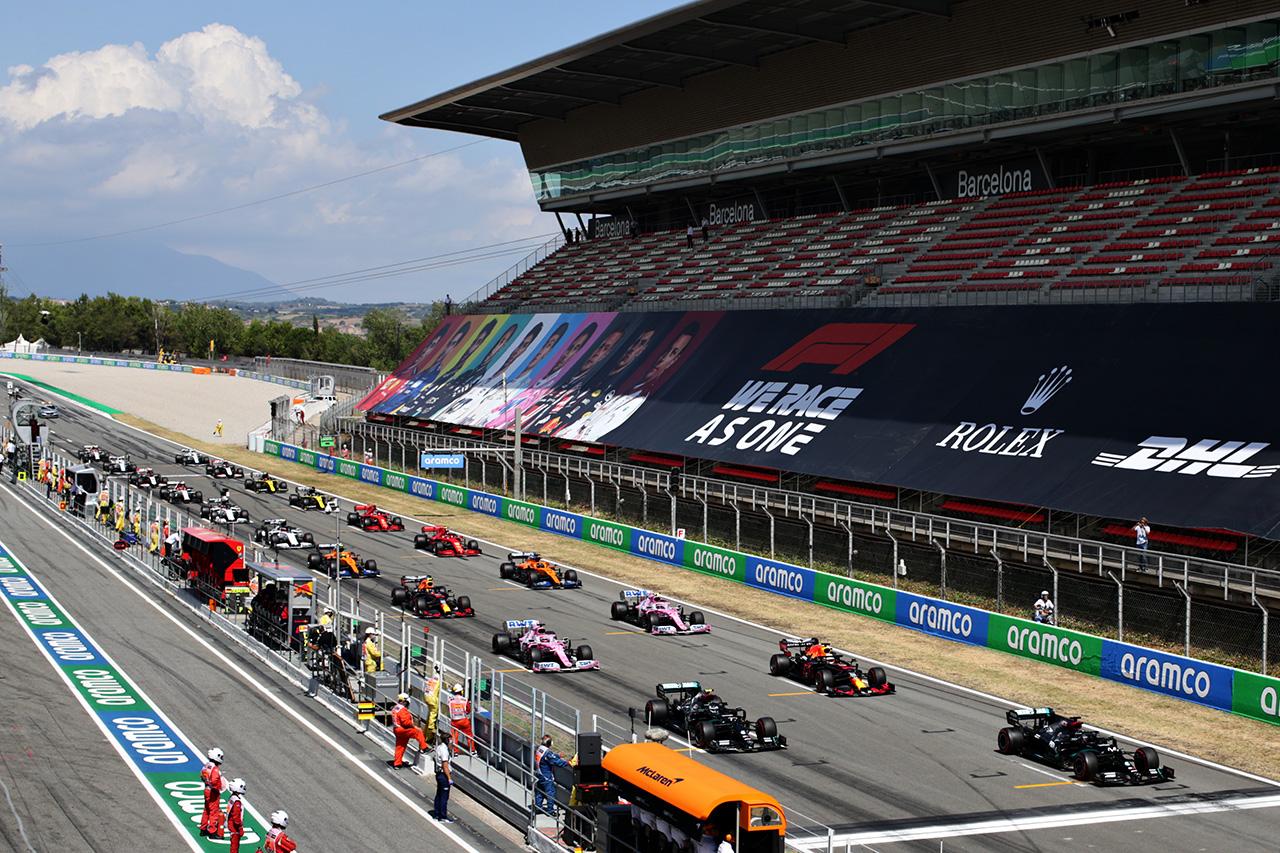 2021年 第4戦 F1スペインGP:決勝に1000人の観客を動員へ