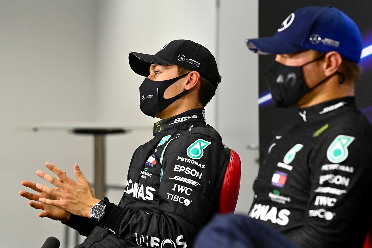 メルセデスF1代表、ボッタスとラッセル交代の噂は「ナンセンス」