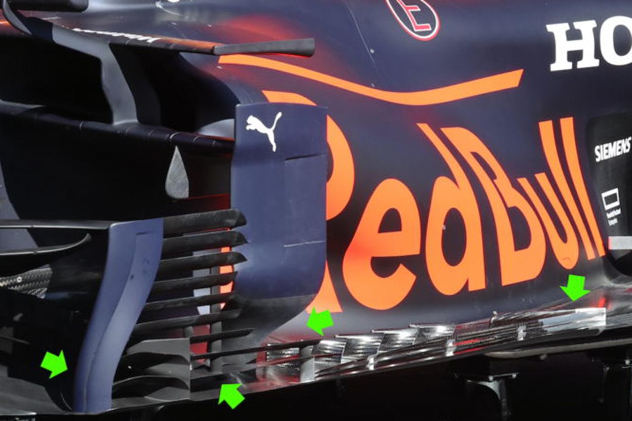 F1マシン分析:レッドブル・ホンダF1、第3戦でも積極的に大幅アップグレードを導入