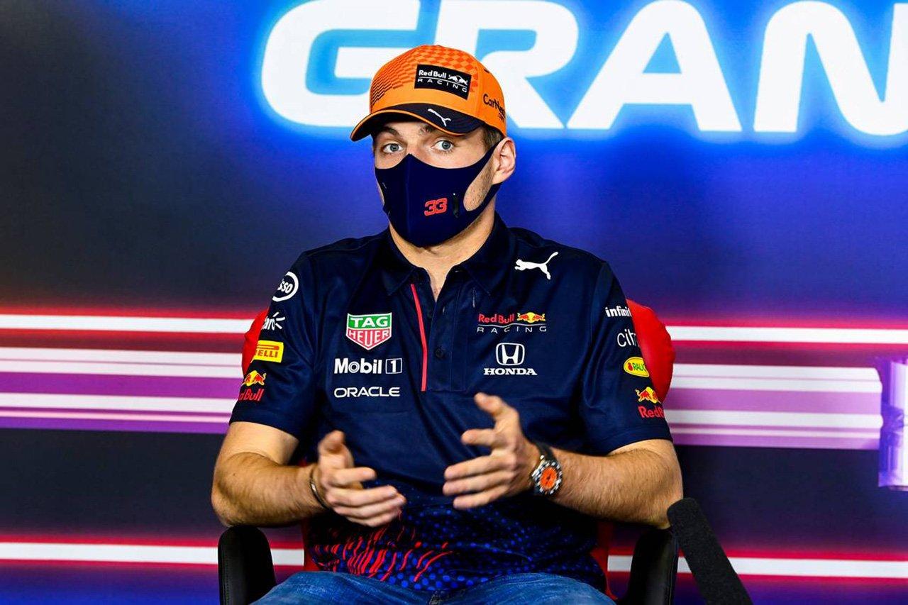レッドブル・ホンダF1のマックス・フェルスタッペン 「トラックリミットには厳しい制限が必要」 / F1スペインGP 木曜記者会見