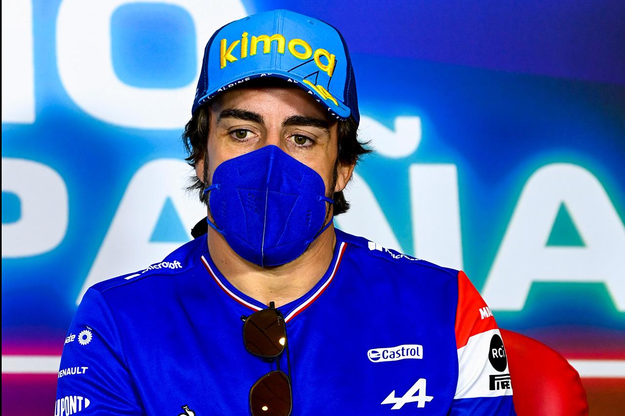 アルピーヌF1のフェルナンド・アロンソ 「F1マシンのスピードに再適応するのはチャレンジ」 / F1スペインGP 木曜記者会見