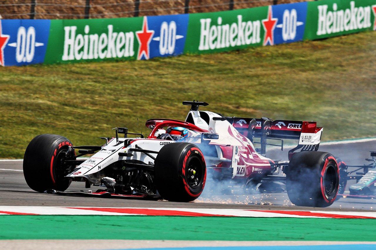 キミ・ライコネン 「F1ポルトガルGPでのクラッシュを息子にイジられた」