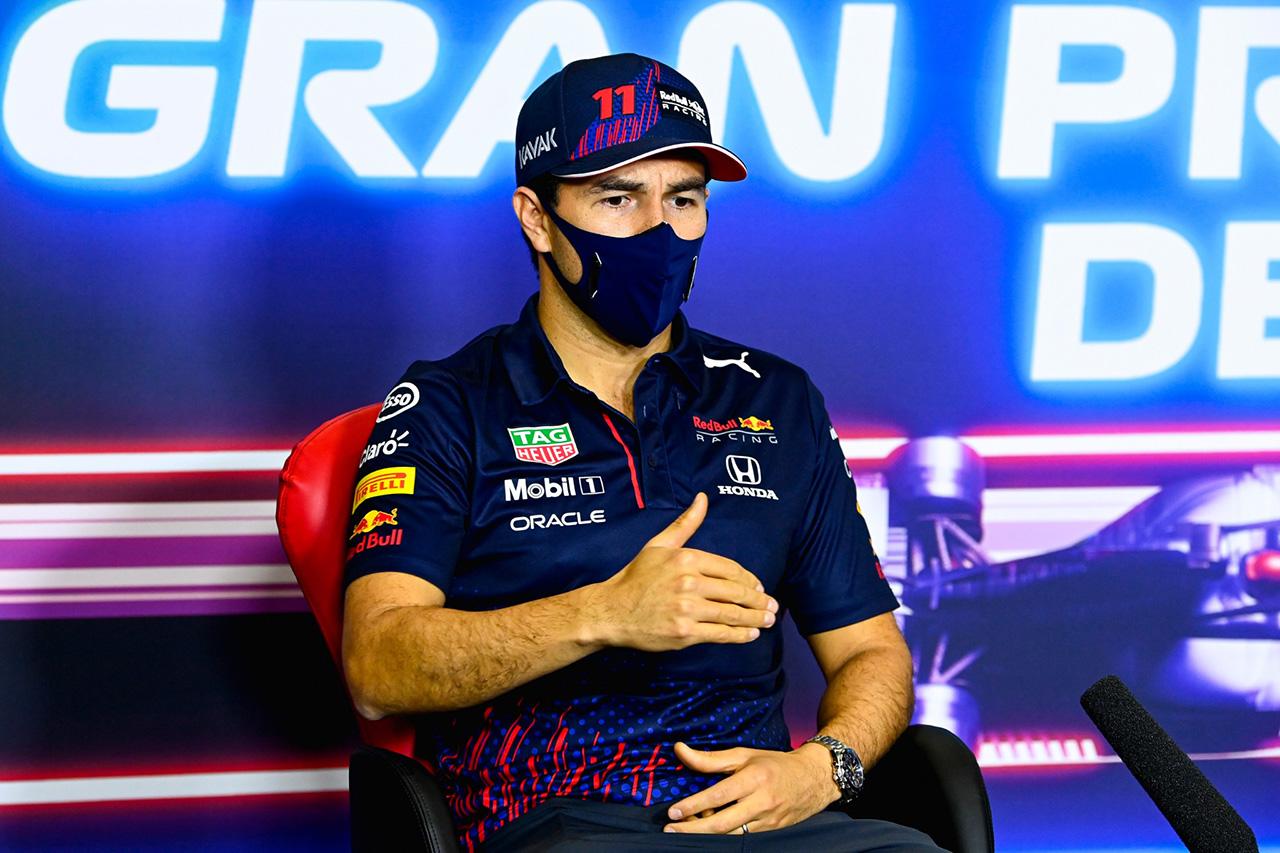 レッドブル・ホンダF1のセルジオ・ペレス 「まだフェルスタッペンのセットアップをベースにしている」 / F1スペインGP 木曜記者会見