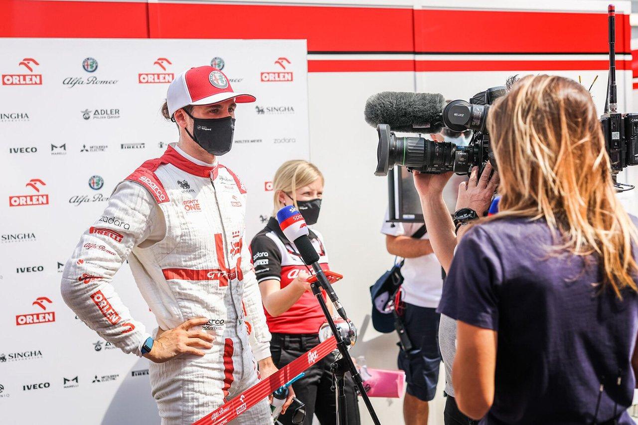 アントニオ・ジョビナッツィ 「予選は最小のマージンによって決まる」 / アルファロメオ F1スペインGP 金曜フリー走行