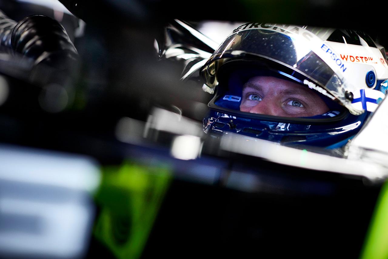 バルテリ・ボッタス 「すぐに前後のタイヤを作動させられるかが鍵」 / メルセデス F1スペインGP 金曜フリー走行