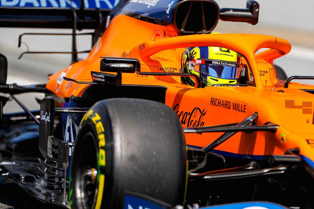 ランド・ノリス、12番手に困惑 「感触は悪くはなかったけど…」 / マクラーレン F1スペインGP 金曜フリー走行