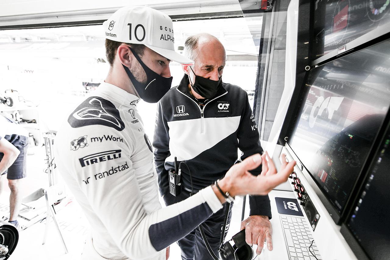 ピエール・ガスリー 「6番手はマシンの強さを示している」 / アルファタウリ・ホンダ F1スペインGP 金曜フリー走行
