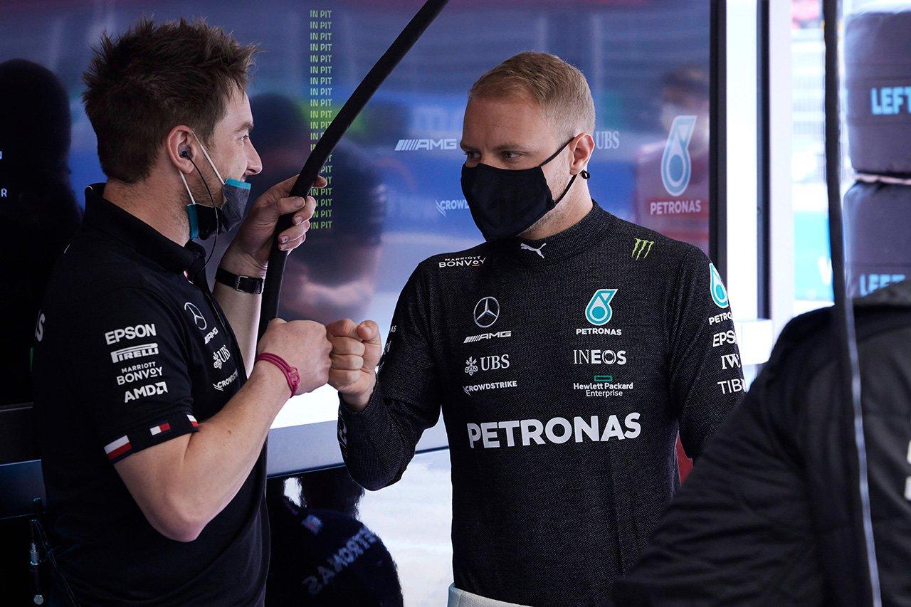 バルテリ・ボッタス 「決勝はまたレッドブルとの接戦になるだろう」 / メルセデス F1スペインGP 予選