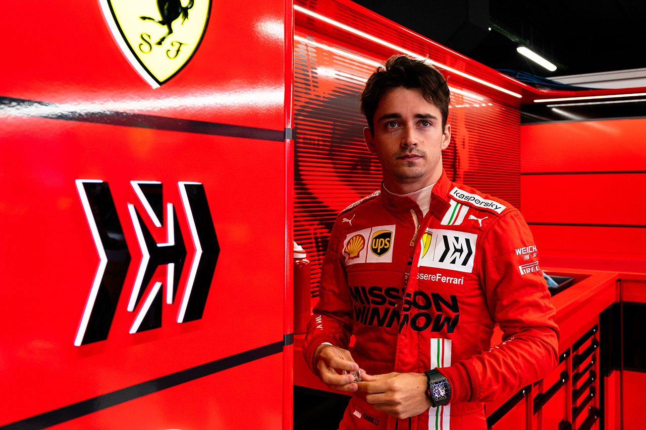 シャルル・ルクレール 「トップ3とのギャップを見れば4番手は堅実な結果」 / フェラーリ F1スペインGP 予選