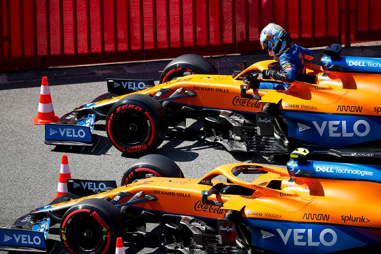ダニエル・リカルド 「タイミングの問題で2セット目のタイヤを使えなかった」 / マクラーレン F1スペインGP 予選