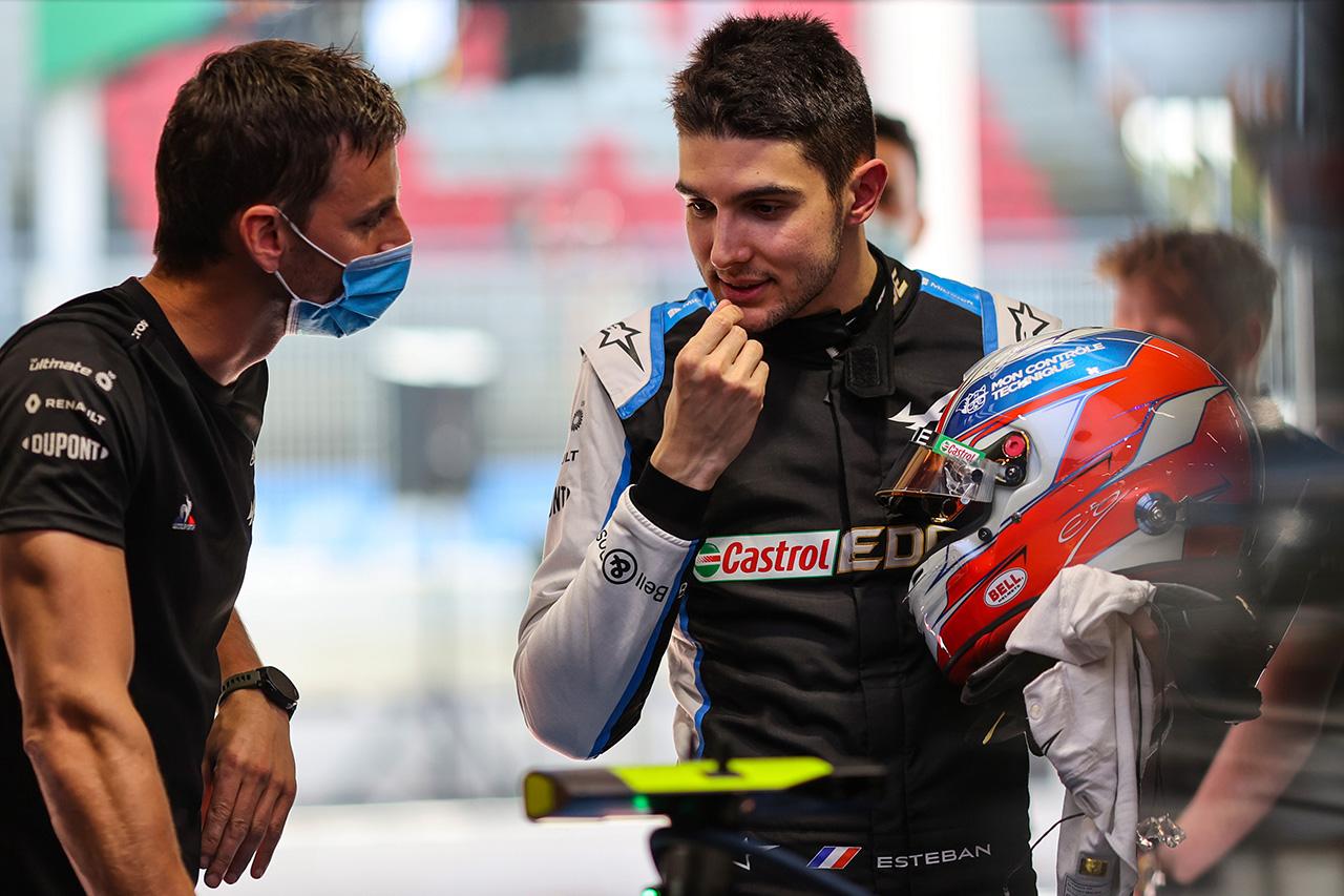 エステバン・オコン、堂々5番手 「チームの努力が報われている」 / アルピーヌ F1スペインGP 予選