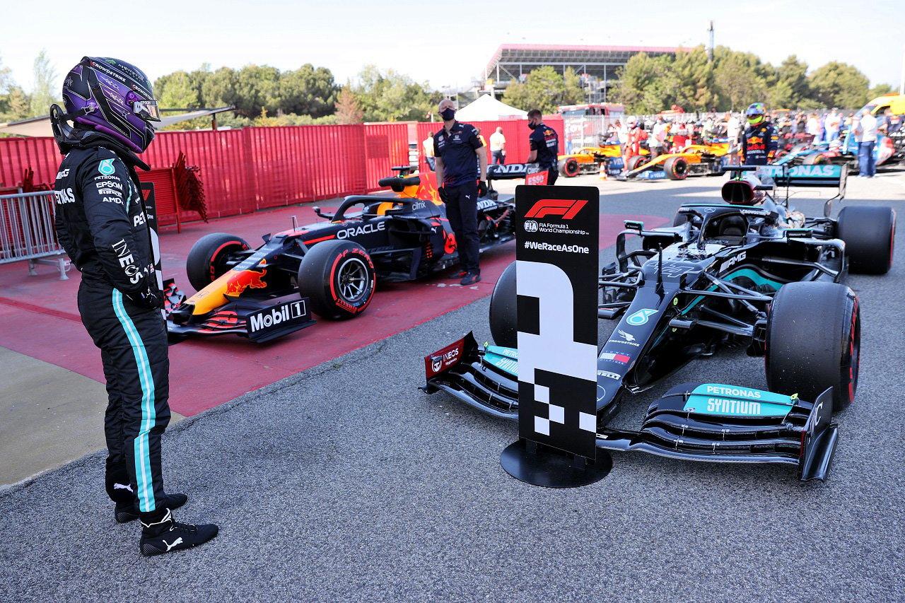 2021年 F1スペインGP 決勝:スターティンググリッド