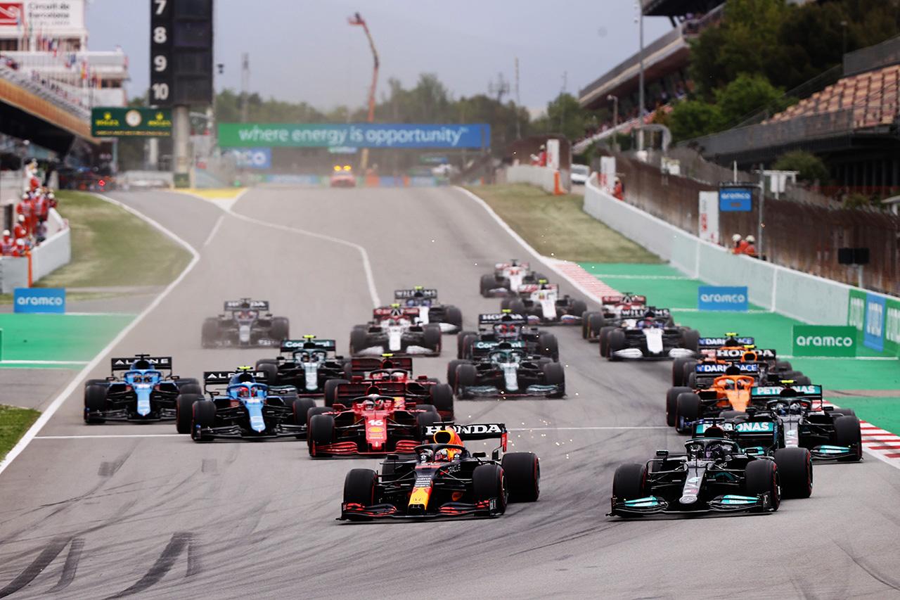 【速報】 F1スペインGP 結果:マックス・フェルスタッペンは2位表彰台…優勝はルイス・ハミルトン