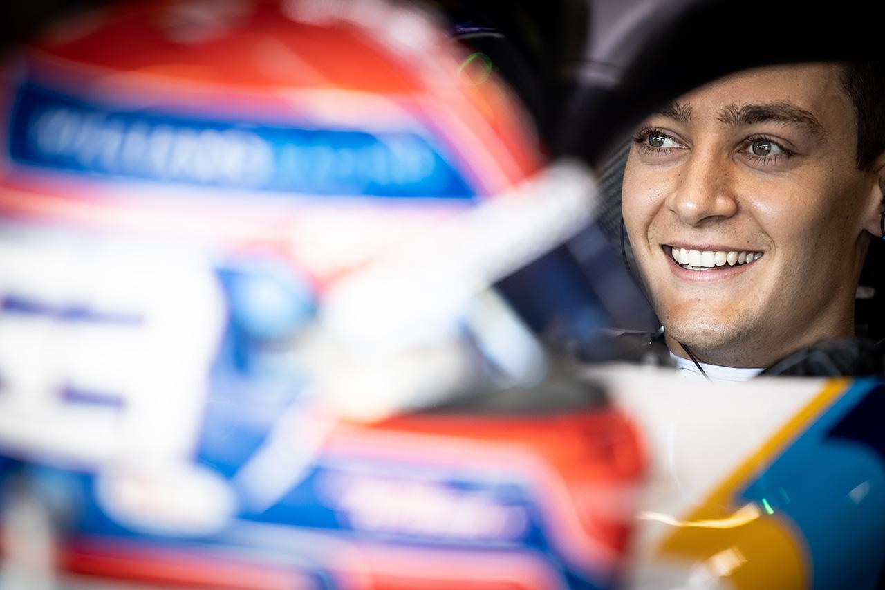 ジョージ・ラッセル 「角田やライコネンを倒してのQ2は最大限の結果」 / ウィリアムズ F1スペインGP 予選