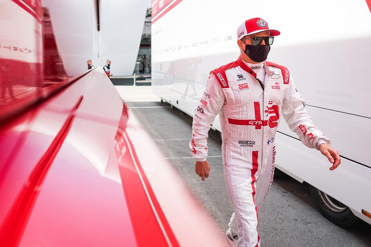 キミ・ライコネン、Q1敗退 「前のマシンに近づきすぎてしまった」 / アルファロメオ F1スペインGP 予選