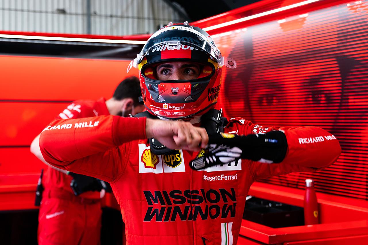 カルロス・サインツ 「総合力が問われるコースでSF21は機能している」 / フェラーリ F1スペインGP 予選