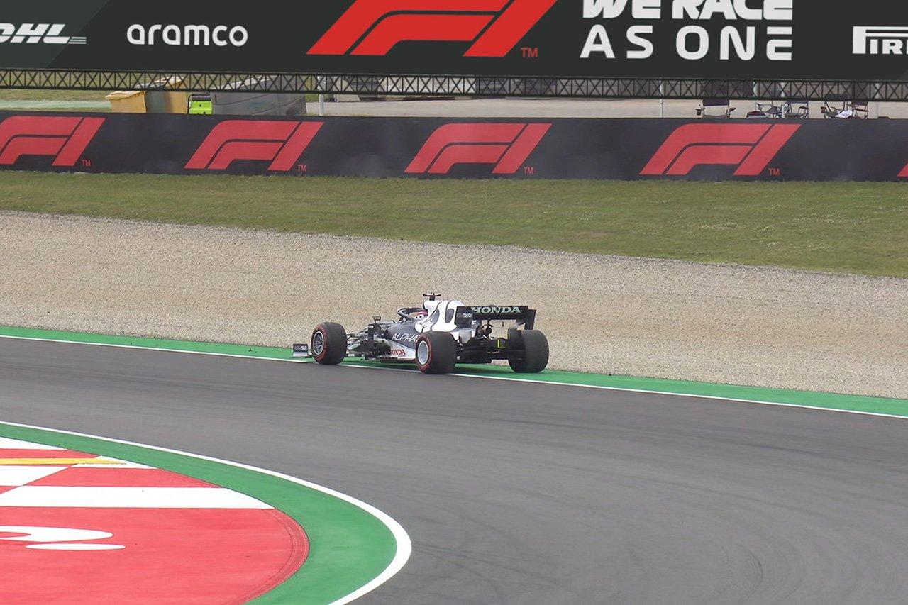 角田裕毅、突然のマシンのシャットダウンでリタイア / F1スペインGP 決勝
