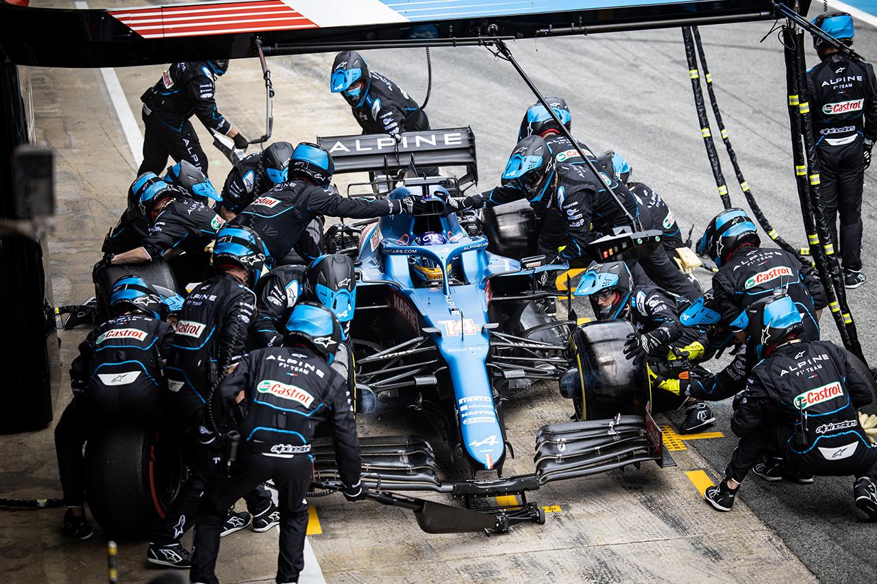 フェルナンド・アロンソ 2021 F1 スペイングランプリ
