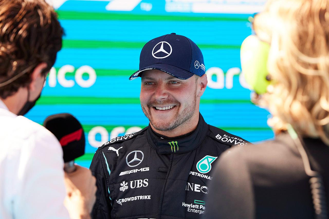 バルテリ・ボッタス 「1周目にルクレールに抜かれたのが痛かった」 / メルセデス F1スペインGP 予選