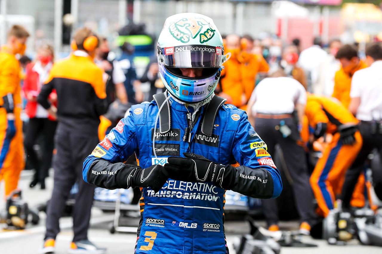 ダニエル・リカルド 「ずっと防御していたレースだった!」 / マクラーレン F1スペインGP 決勝