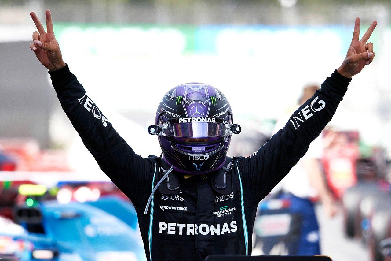 ルイス・ハミルトン 「2ストップには葛藤があったけど素晴らしい判断だった」 / メルセデス F1スペインGP 決勝