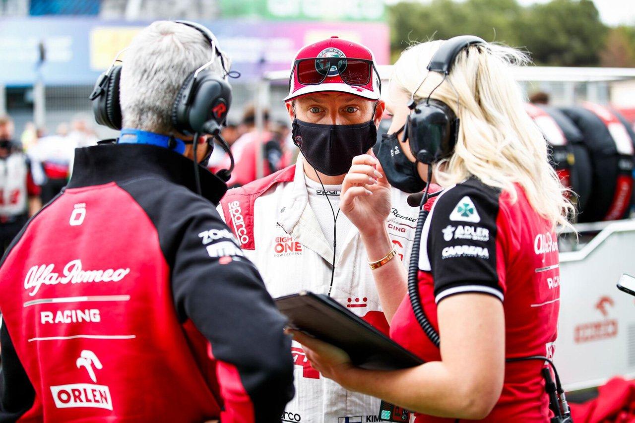 キミ・ライコネン 「僕たちには1ストップがベストな戦略だった」 / アルファロメオ F1スペインGP 決勝