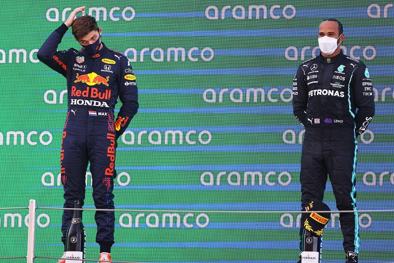 マックス・フェルスタッペン 「ハミルトンにいいカモにされてしまった」 / レッドブル・ホンダ F1スペインGP 決勝