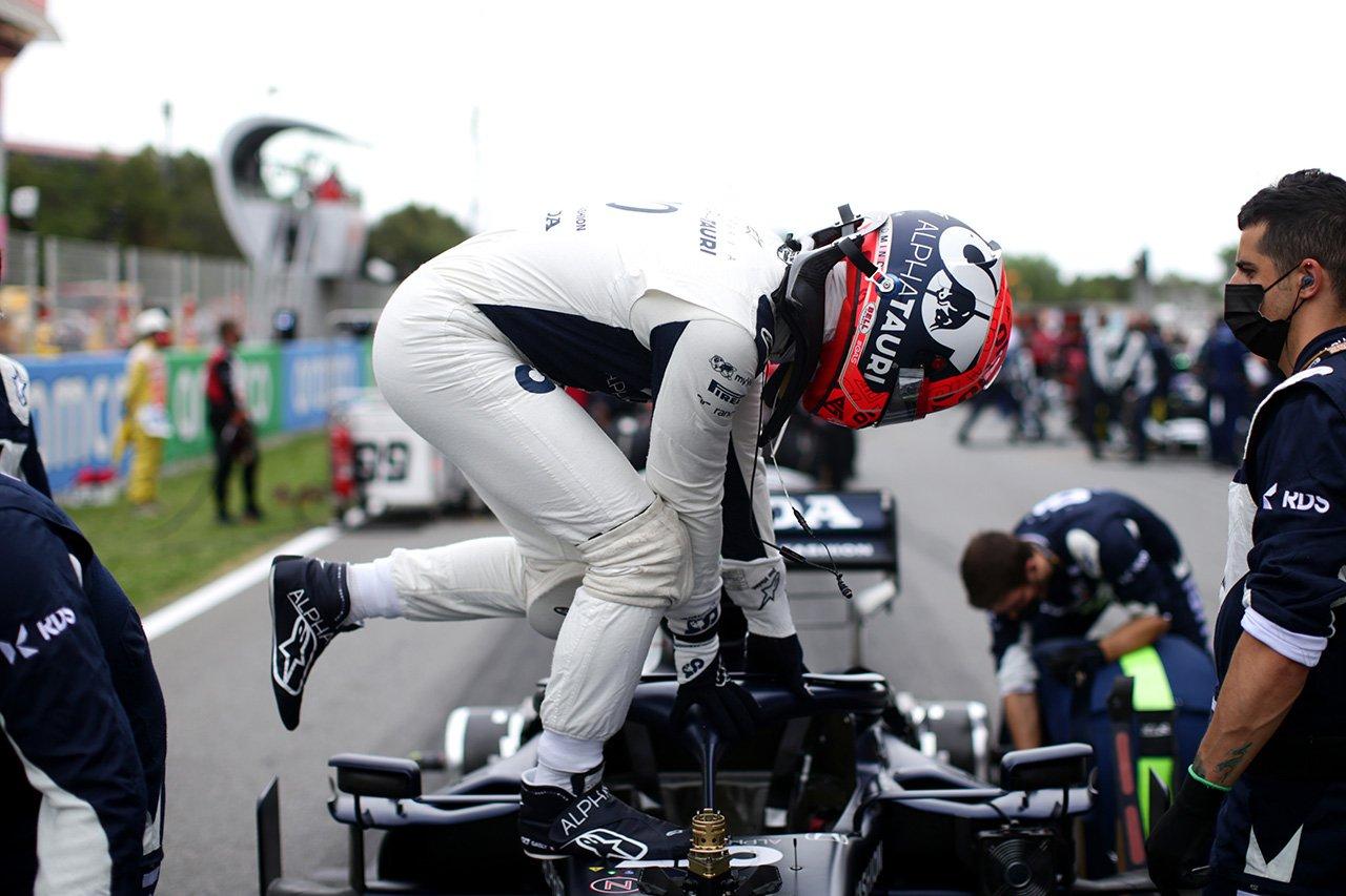 ピエール・ガスリー 「グリッド位置をミスしてしまった自分に腹が立つ」 / アルファタウリ・ホンダ F1スペインGP 決勝