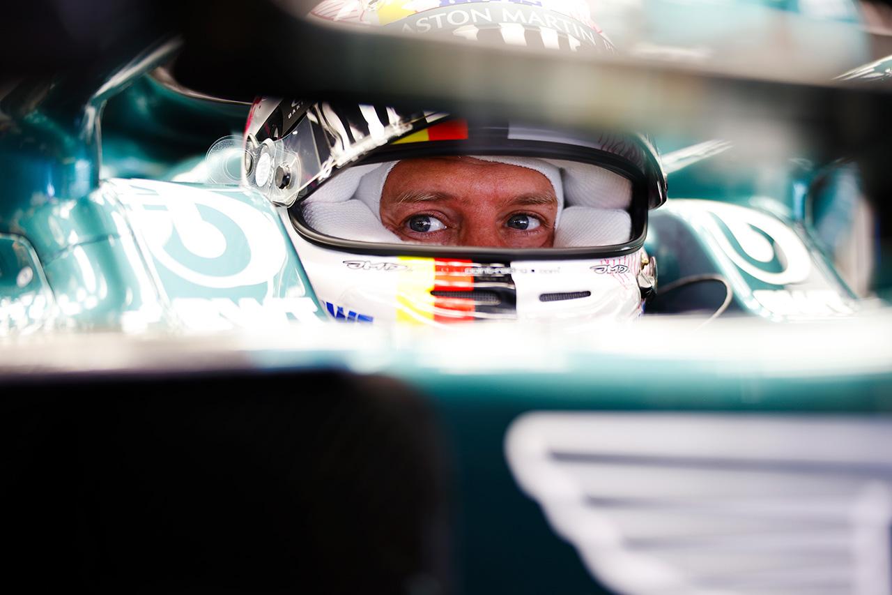 セバスチャン・ベッテル 「2ストップでもタイヤライフが尽きてしまった」 / アストンマーティン F1スペインGP 決勝