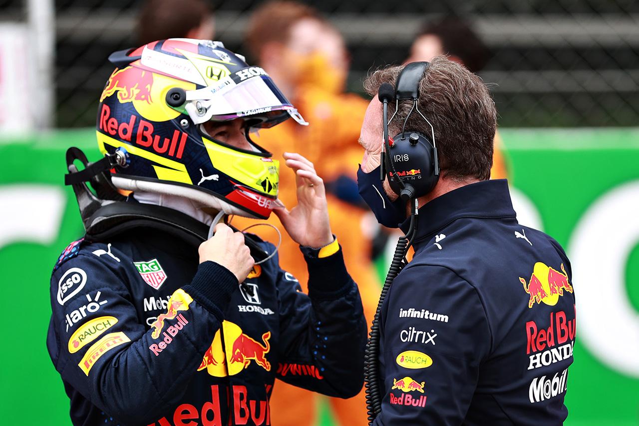 セルジオ・ペレス 「タイヤが残ってなくて難しい状況だった」 / レッドブル・ホンダ F1スペインGP 決勝