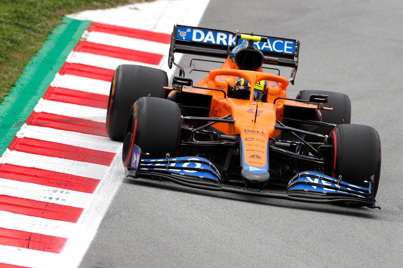 マクラーレンF1、フェラーリとの3位争いのためにMCL35Mの開発を継続