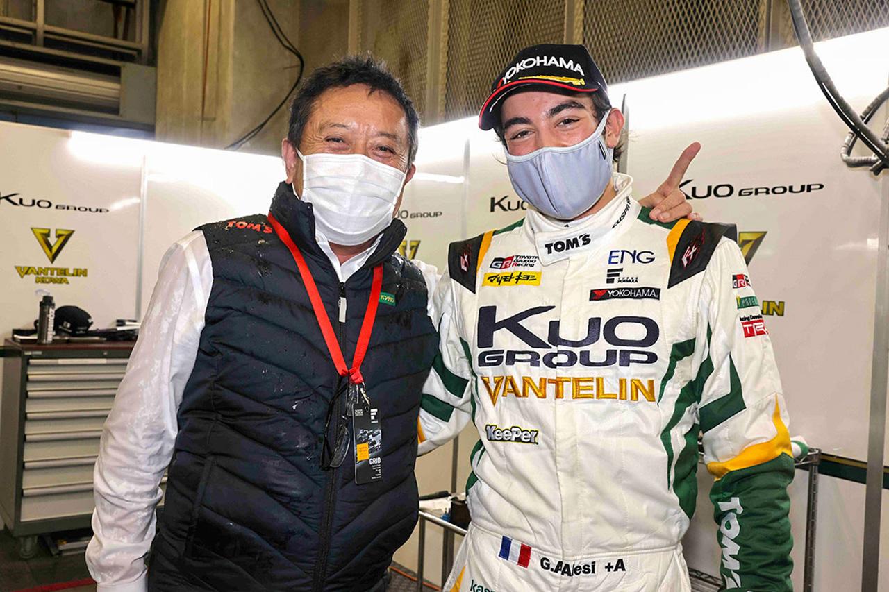 ジュリアーノ・アレジ、初ポール獲得は「今まで苦戦してきた分へのご褒美」 / スーパーフォーミュラ 第3戦 オートポリス