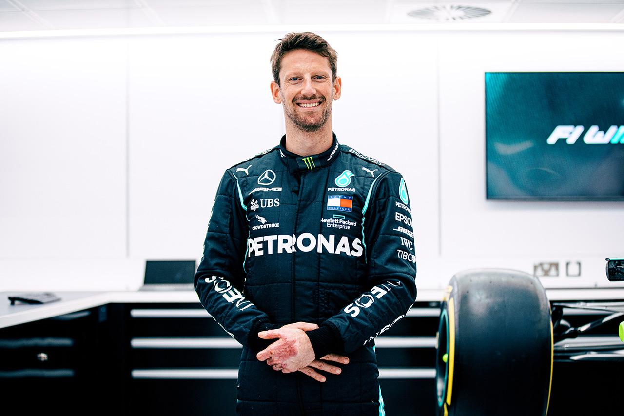 ロマン・グロージャン、F1カレンダー変更でフランスGPでのデモ走行は中止。メルセデス W10でのテストは実施