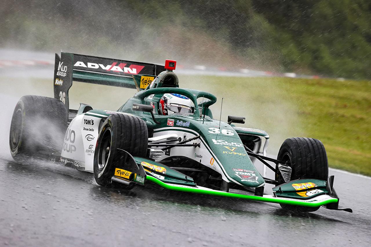 スーパーフォーミュラ 第3戦 結果:ジュリアーノ・アレジが初優勝…悪天候で赤旗中断のままレース終了