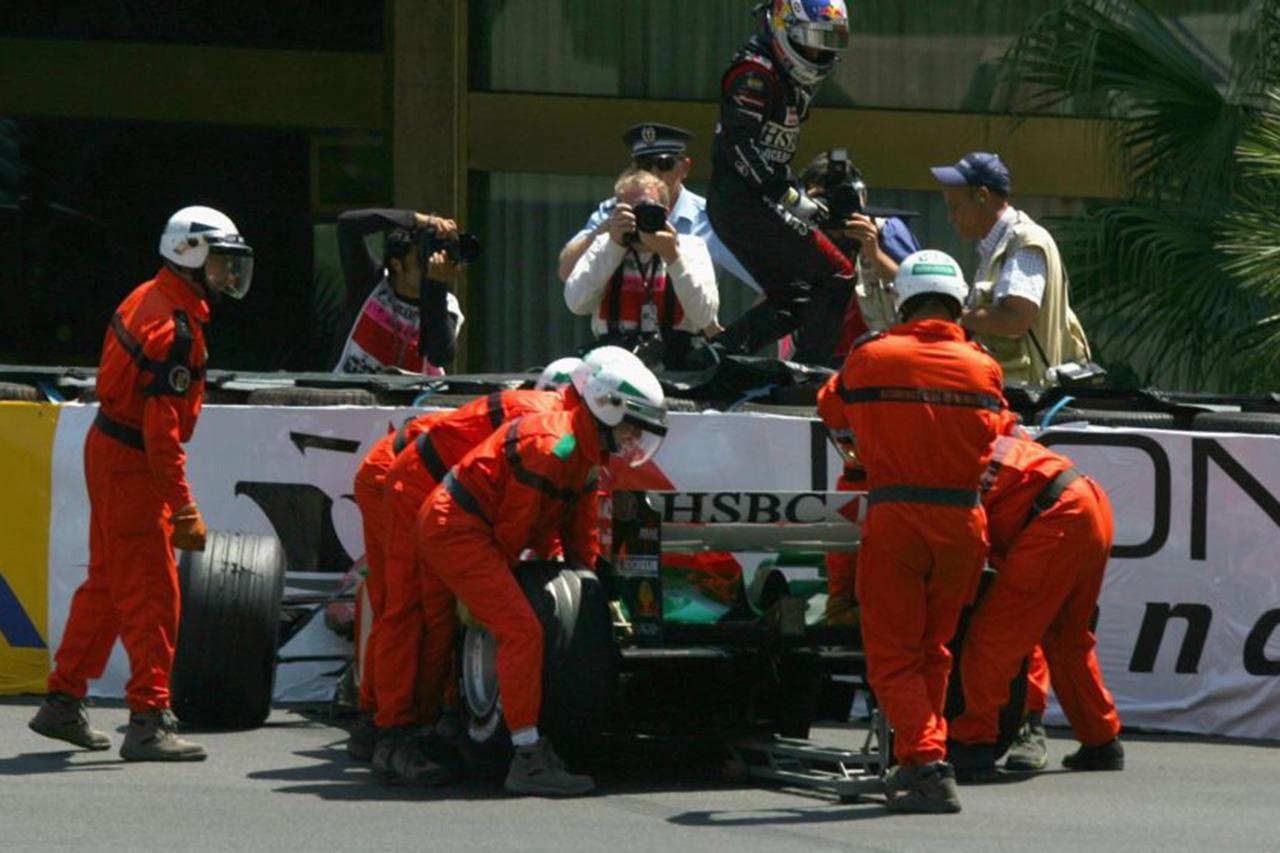 2004年 F1モナコGP クリスチャン・クリエン(ジャガー)